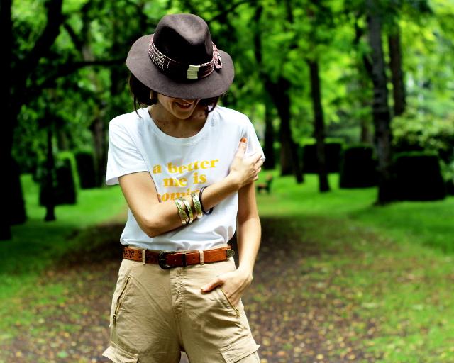 Pantalón safari