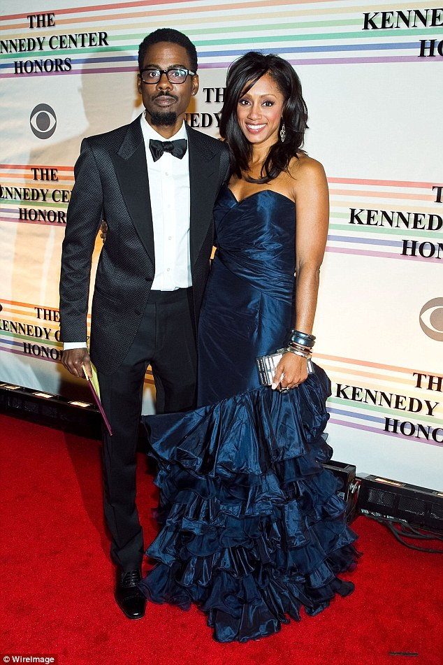 Chris Rock and ex-wife Malaak Compton-Rock