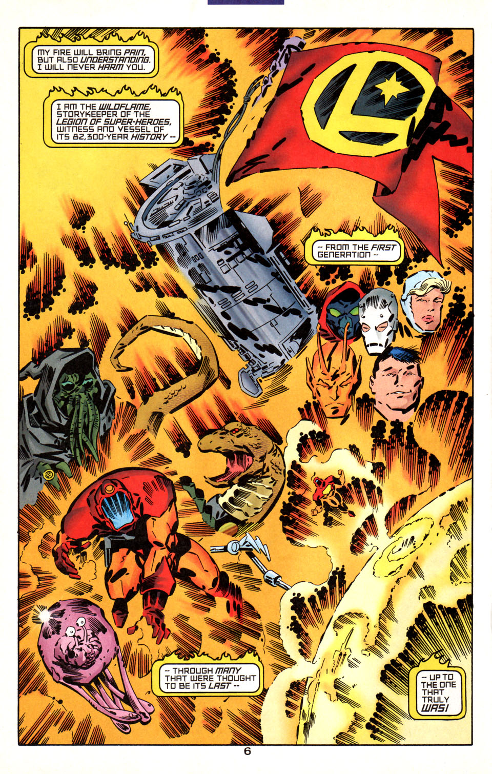 Legion of Super-Heroes (1989) 1000000 Page 7