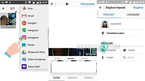 Cara Upload Smule ke Instagram