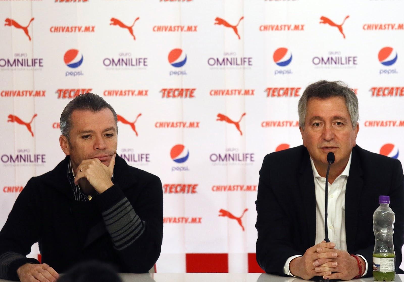 José Luis Higuera y Jorge Vergara.
