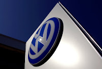 VW Logo Sign (Credit: David Gray / Reuters)  Click to Enlarge.