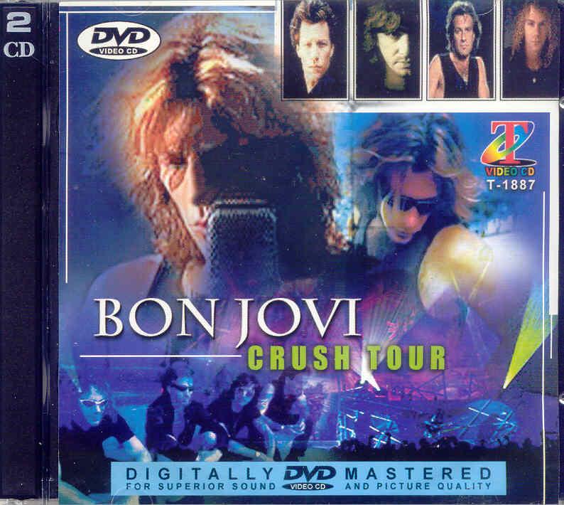 Bon Jovi French Collection Crush Tour Cd Vid 233 O