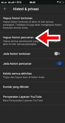 Hapus Riwayat Pencarian Youtube Di Hp Android