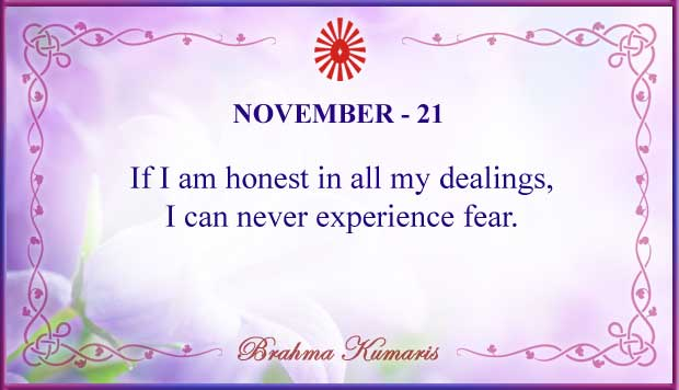 Thought For The Day November 21