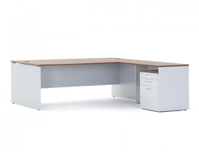 best buy walnut and white office furniture desks for sale