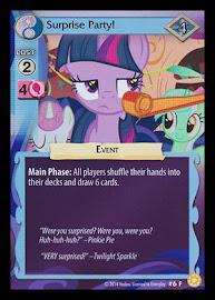 My Little Pony Surprise Party! Celestial Solstice CCG Card
