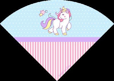 Unicornio: Cajas e Imprimibles para Fiestas de Cumpleaños, para Imprimir Gratis.