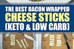 The Best Bacon Wrapped Cheese Sticks (Keto & Low Carb)