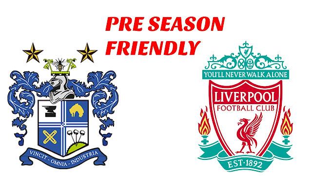 Bury vs Liverpool Full Match Replay 14 July 2018