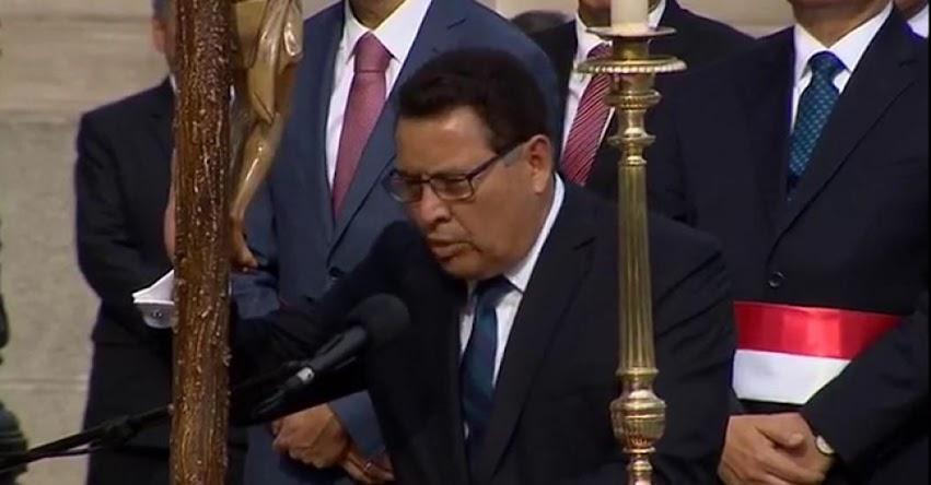 MINDEF: José Huerta Torres juramentó como nuevo Ministro de Defensa (2 Abril 2018) www.mindef.gob.pe