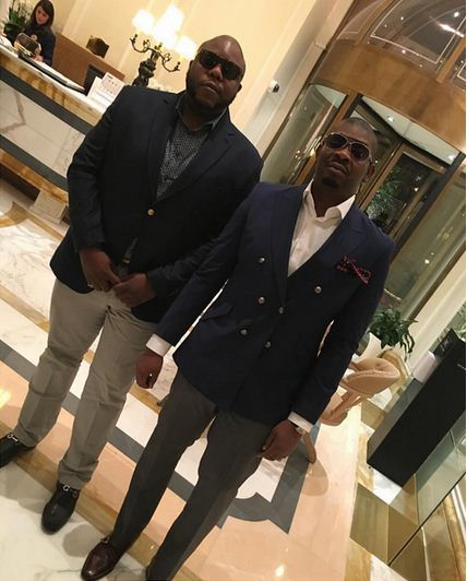 Bizzle and Don Jazzy