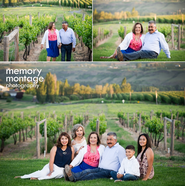 Yakima Valley Wine Country Photography - Rodriquez Family