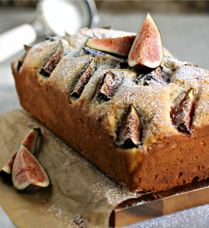 Yogurt Fig Cake