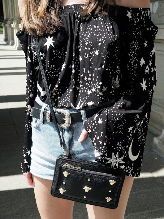 Wearing Stars And Moons In Berlin - Ivyrevel
