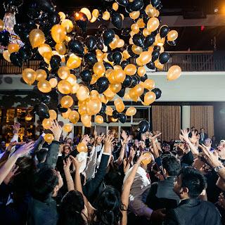 Balloon drop new year eve event idea