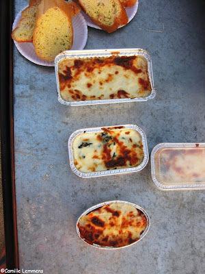 Food on wheels; Lasagne
