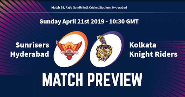 VIVO IPL 2019 Match 38 SRH vs KKR Match Preview, Head to Head and Trivia