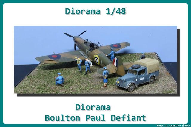 """Diorama """"R.A.F WWII"""""""