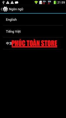 Tiếng Việt và CH Play Coolpad 9295 done alt
