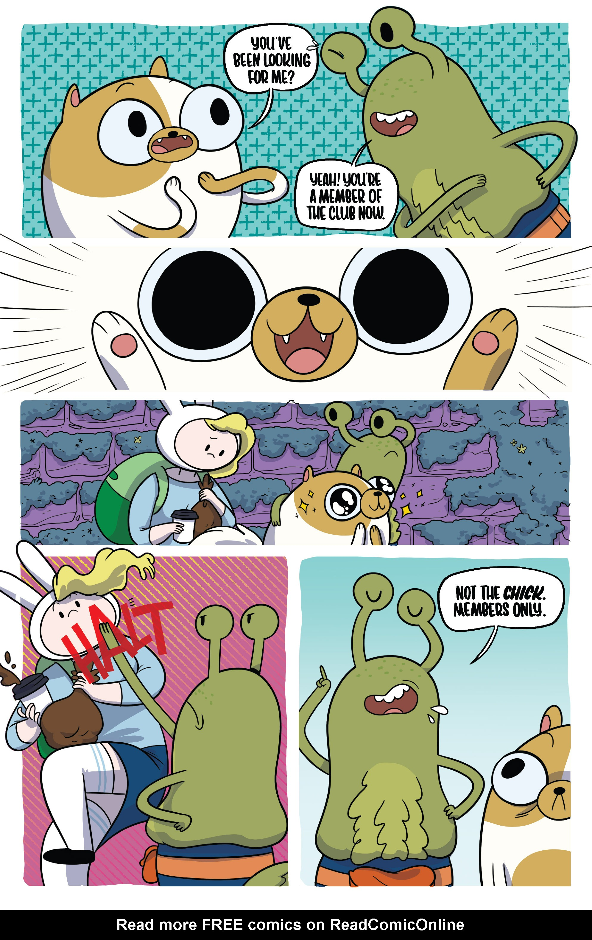 Read online Adventure Time Fionna and Cake Card Wars comic -  Issue #4 - 11