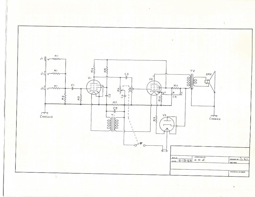 1965 truetone 9528d amplifier brochure