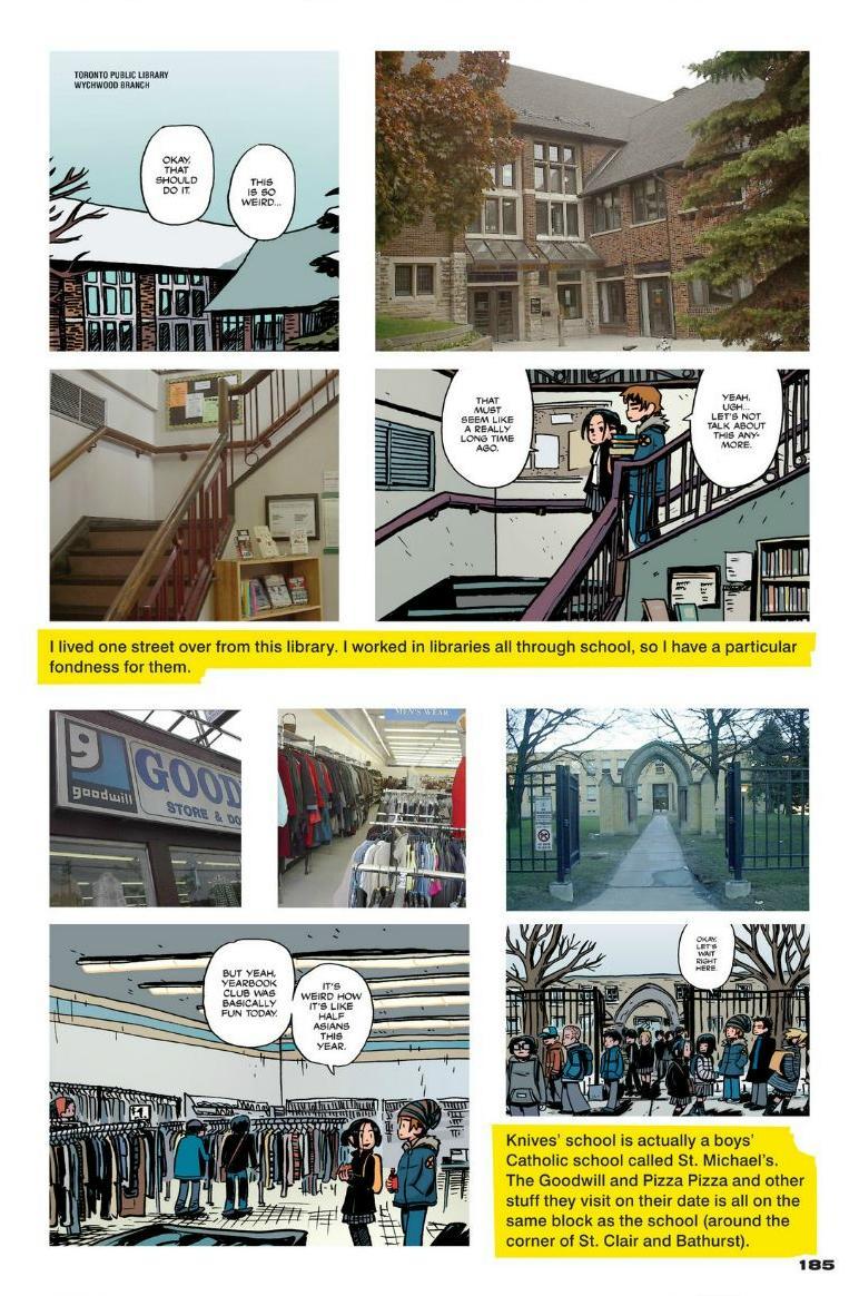 Read online Scott Pilgrim comic -  Issue #1 - 166