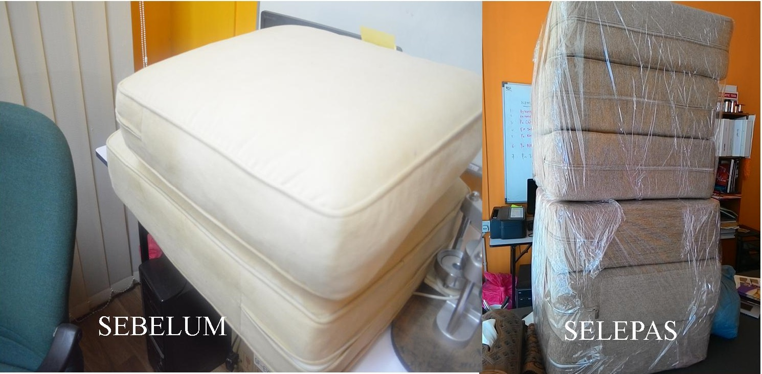 repair sofa shah alam wrap bed murah full sectional couch tan with ...