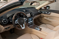 All New Model 2013 Mercedes-Benz SL 500 (U.S. SL550) Roadster Cabriolet Press Official Picture Image Photo Media interior
