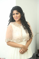 Megha Akash in beautiful Cream Transparent Anarkali Dress at Pre release function of Movie LIE ~ Celebrities Galleries 032.JPG