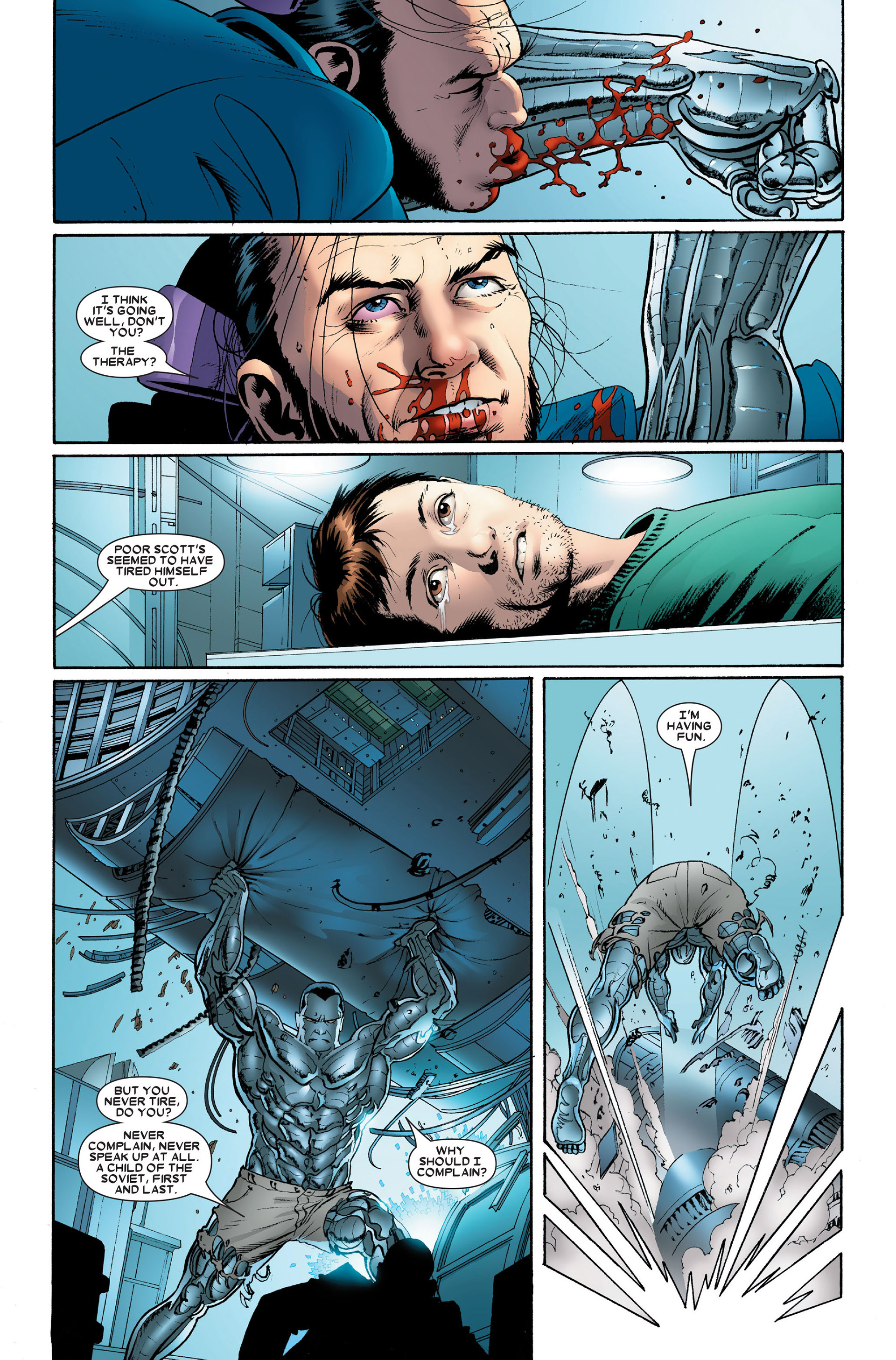 Read online Astonishing X-Men (2004) comic -  Issue #15 - 13