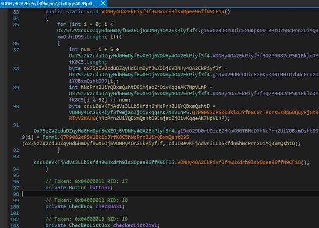 código malicioso ofuscado
