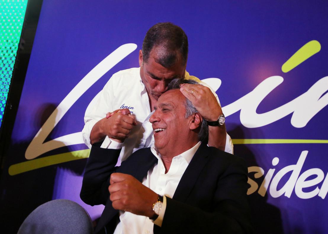 """La revolución volvió a triunfar"": @MashiRafael Correa oficializa victoria de @Lenin en #EcuadorElige2017"