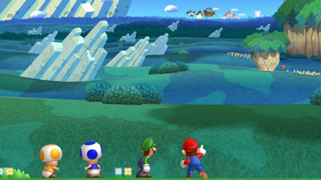 SuperPhillip Central: New Super Mario Bros  U (Wii U) Review