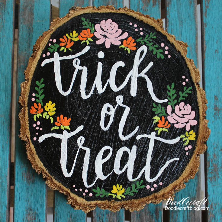 http://www.doodlecraftblog.com/2016/09/trick-or-treat-brush-calligraphy-wood.html