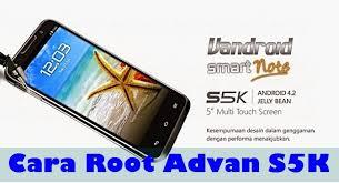 cara flashing Advan S5K tested work 100%