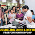1.5 million jobs lost in first four months of 2017 - All time low data shows