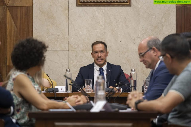 El Cabildo traslada el borrador de presupuestos al Consejo Económico y Social de La Palma