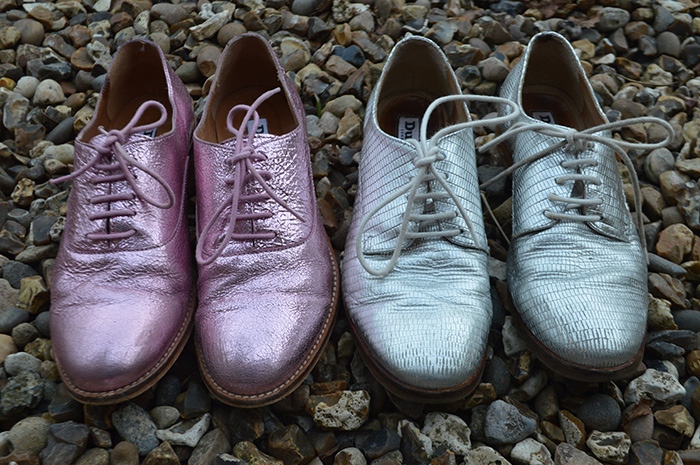 dune metallic brouges fashion bloggers
