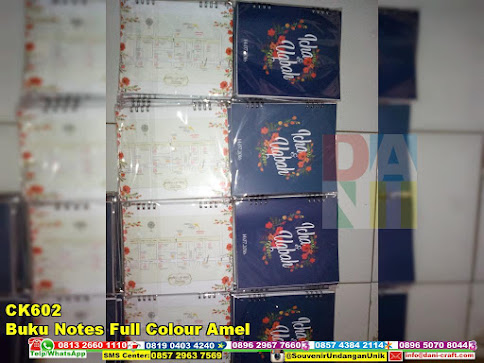 jual Buku Notes Full Colour Amel