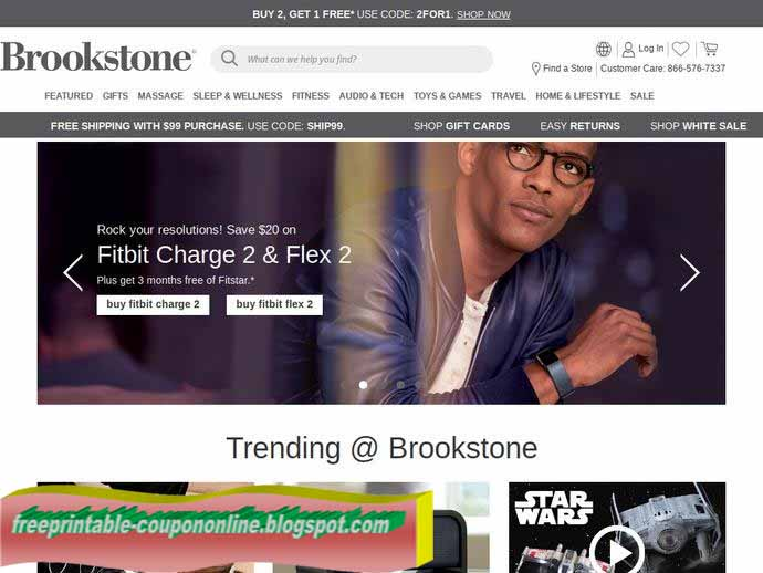 Brookstone coupon codes