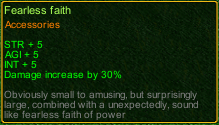 naruto castle defense 6.0 item fearless faith detail