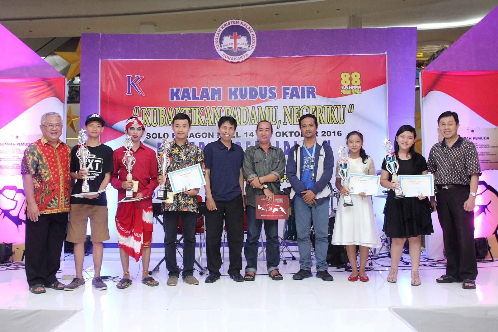 Kemeriahan Kalam Kudus Fair 2016