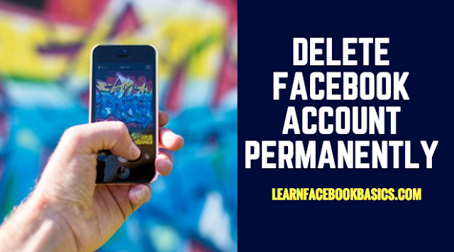 A fast way to delete Facebook Account Permanently on Android Device