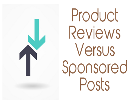 Product Reviews versus Sponsored Reviews