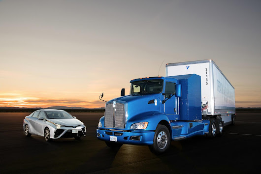 Toyota is Testing a Hydrogen Fuel-Cell Powered Semi