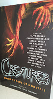 Book cover to Creatures - 30 Years of Monsters edited by John Langan and Paul Tremblay
