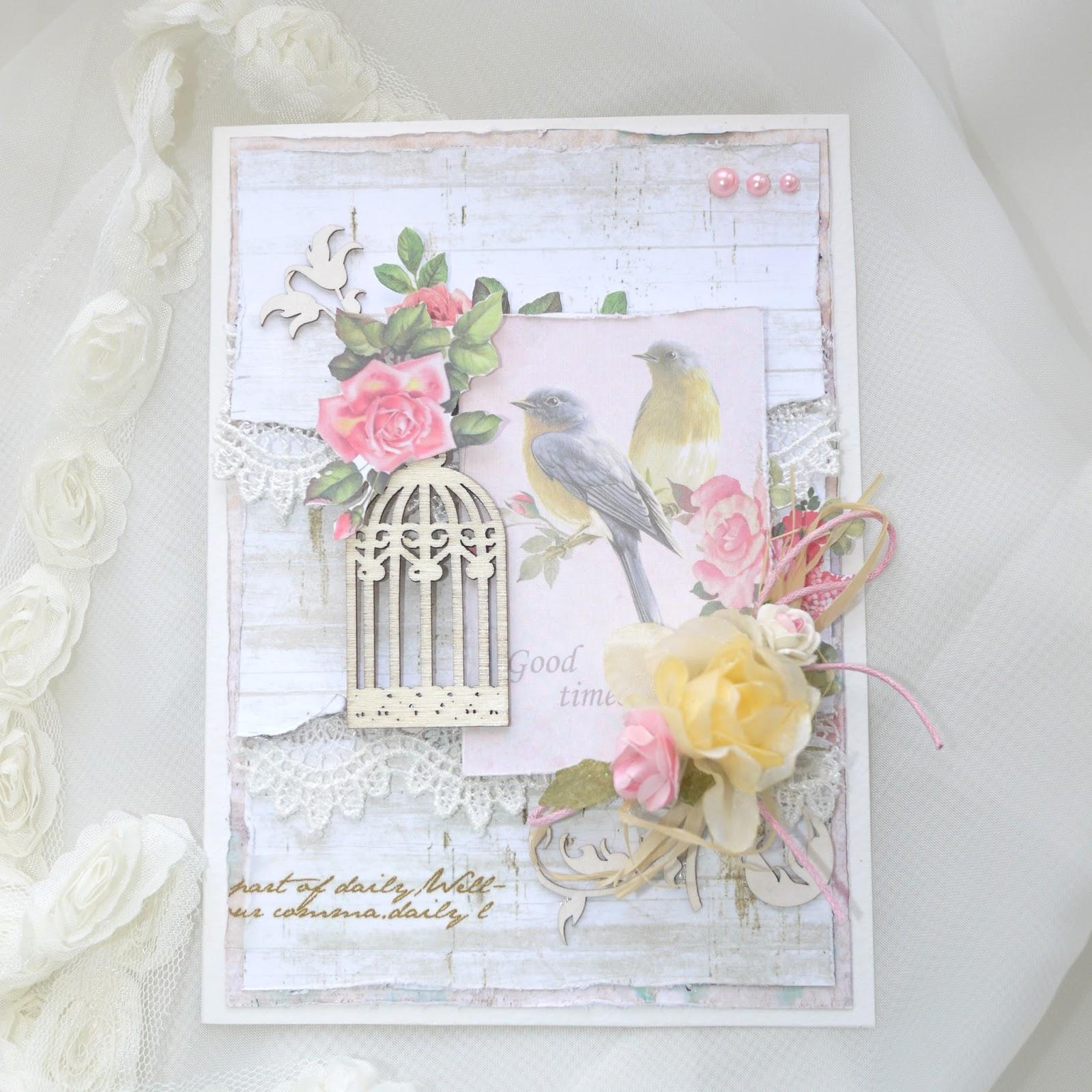 Скрап открытки вертушки