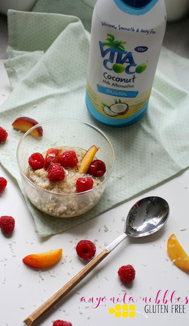 Coconut Milk Oatmeal that #TastesLikeNoUdder from Anyonita Nibbles