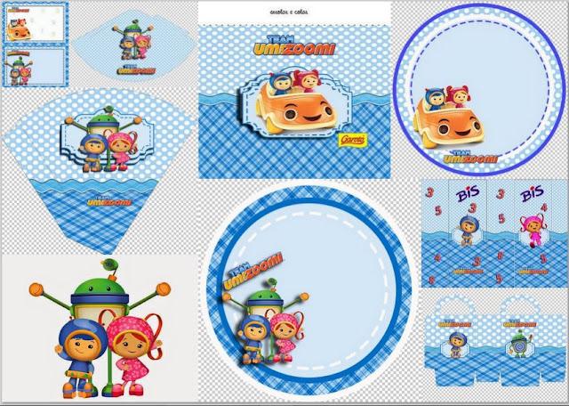 Kit de Umizoomi para Imprimir Gratis.